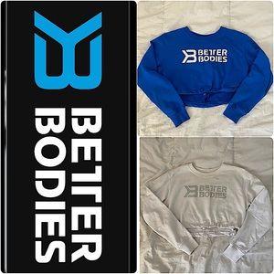 BETTERBODIES crop sweatshirt size S